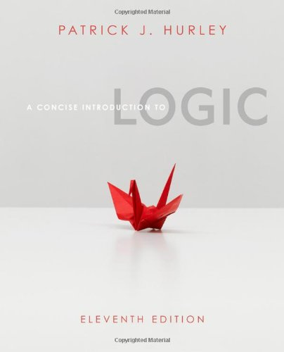 9780840034175: A Concise Introduction to Logic (with Stand Alone Rules and Argument Forms Card) (Available Titles Aplia)