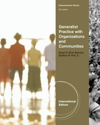 9780840034267: Generalist Practice with Organizations and Communities, International Edition