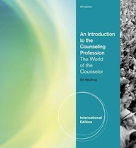 9780840034328: An Introduction to the Counseling Profession the World of the Counselor 4th Edition