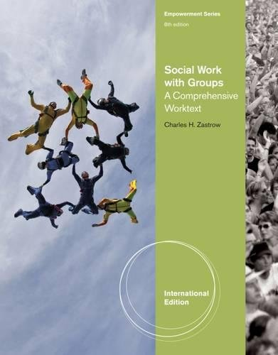 9780840034519: Social Work with Groups: A Comprehensive Workbook