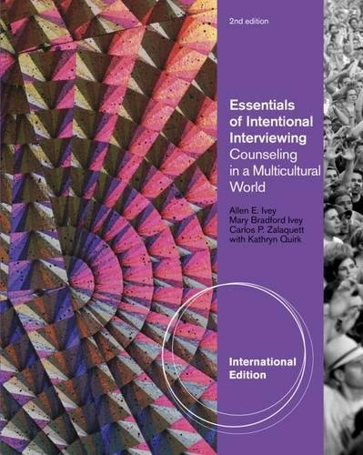 9780840034571: Essentials of Intentional Interviewing: Counseling in a Multicultural World, International Edition