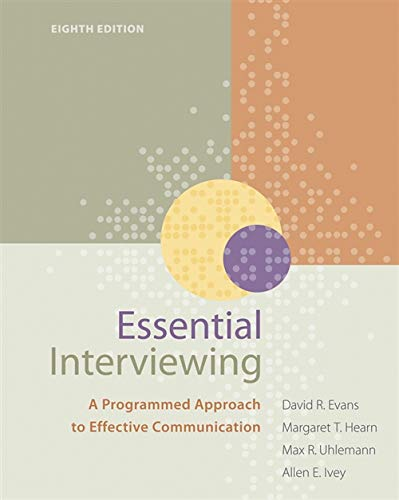 9780840034717: Essential Interviewing: A Programmed Approach to Effective Communication (HSE 123 Interviewing Techniques)
