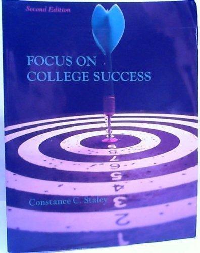 9780840043290: Focus on College Success