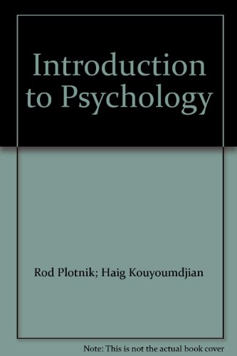 9780840043986: Introduction to Psychology