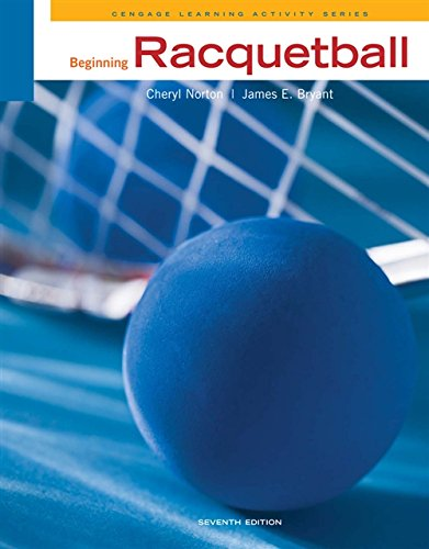 9780840048103: Beginning Racquetball (Cengage Learning Activity)