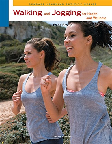 9780840048127: Walking and Jogging for Health and Wellness (Cengage Learning Activities)