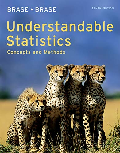 9780840048387: Understandable Statistics: Concepts and Methods