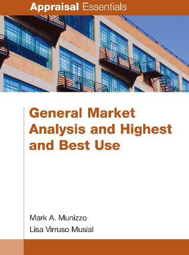 9780840049254: General Market Analysis and Highest and Best Use (Appraisal Essentials)