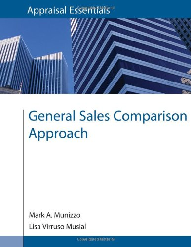 9780840049278: General Sales Comparison Approach (Appraisal Essentials)