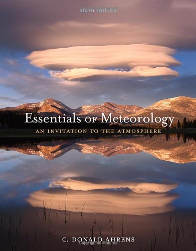 9780840049339: Essentials of Meteorology: An Invitation to the Atmosphere