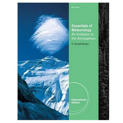 9780840053084: Essentials of Meteorology: An Invitation to the Atmosphere, International Edition