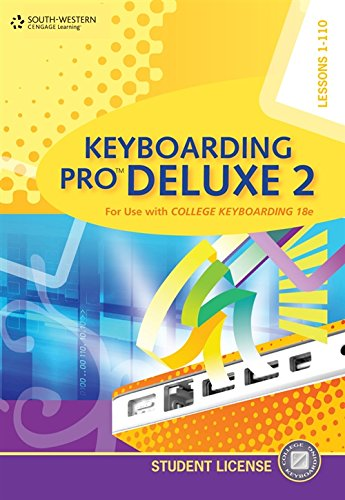 9780840053350: Keyboarding Pro Deluxe 2 Student License (with Individual License User Guide and CD-ROM)