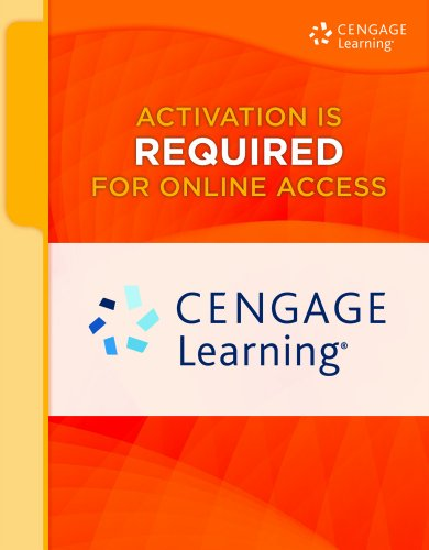 CengageNOW on WebCT(TM), 1 term (6 months) Printed Access Card for Gaines/Miller's ...