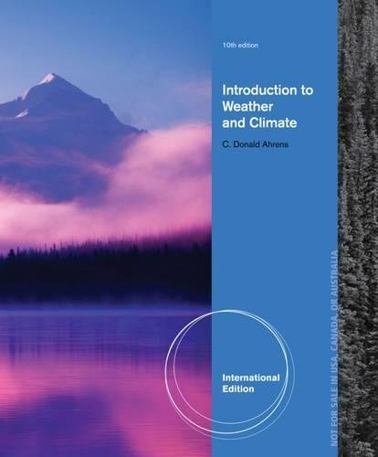 9780840058157: Meteorology Today: An Introduction to Weather, Climate and the Environment, International Edition