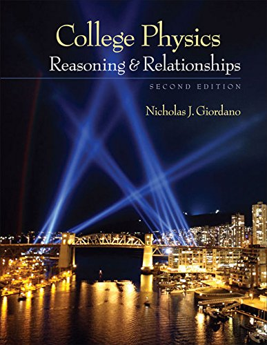 9780840058195: College Physics: Reasoning and Relationships (Textbooks Available with Cengage Youbook)