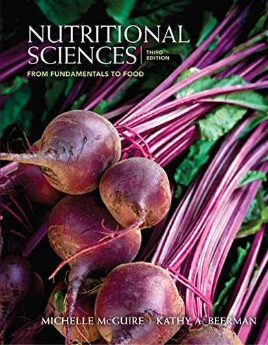 9780840058201: Nutritional Sciences: From Fundamentals to Food (with Table of Food Composition Booklet)