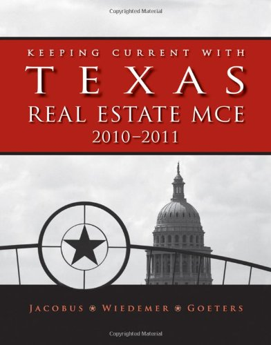 9780840058768: Keeping Current with Texas Real Estate MCE
