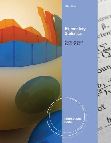 9780840058782: Elementary Statistics. Robert Johnson, Patricia Kuby (International Edition)