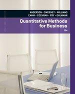 9780840062345: Quantitative Methods for Business, 12th Edition