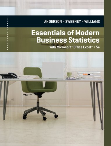9780840062383: Essentials of Modern Business Statistics With Microsoft Excel