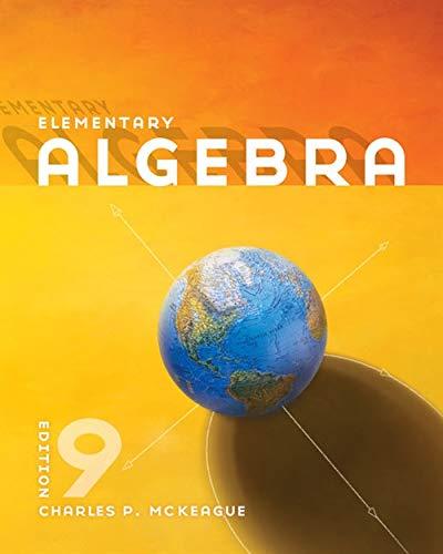 9780840064219: Elementary Algebra