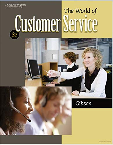 9780840064240: The World of Customer Service