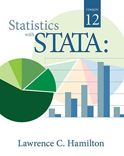 9780840064639: Statistics with STATA: Version 12