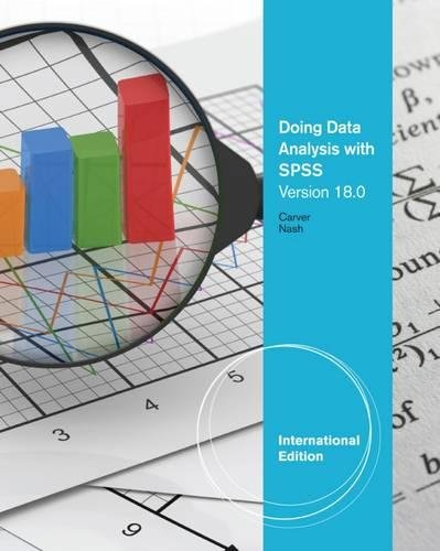9780840065384: Doing Data Analysis with SPSS®: Version 18.0, International Edition