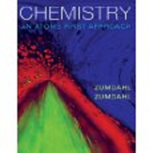9780840065858: Experimental Chemistry: An Atoms First Approach