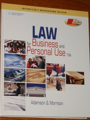 9780840068347: Iwe Law for Biz 19e