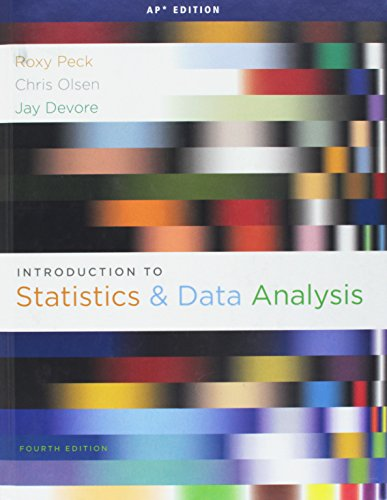9780840068415: Introduction to Statistics and Data Analysis (AP(R) Edition)