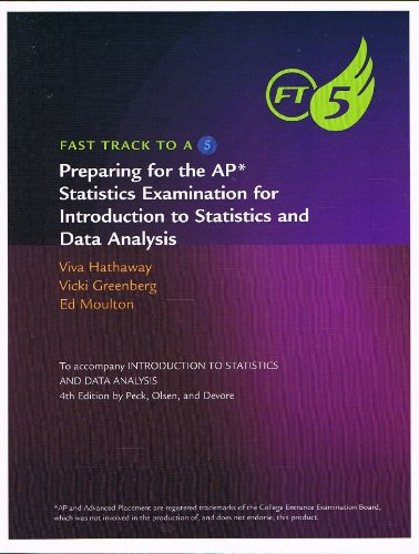 9780840068422: Fast Track to a 5: Preparing for the AP Statistics Examination for Introduction to Statistics and Data Analysis- To Accompany Intro to Statistics and Data Analysis, 4th Edition