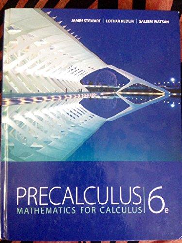 9780840068552: Title: PRECALCULUS MATHFCALCINSTR