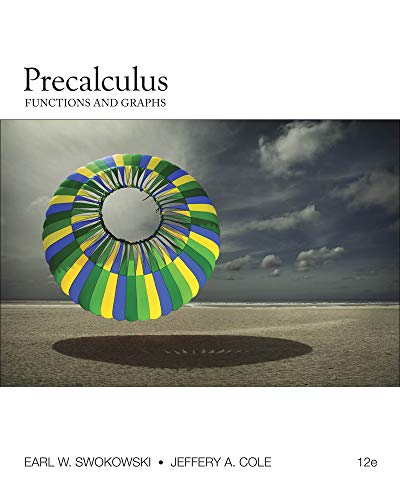 9780840068576: Precalculus: Functions and Graphs