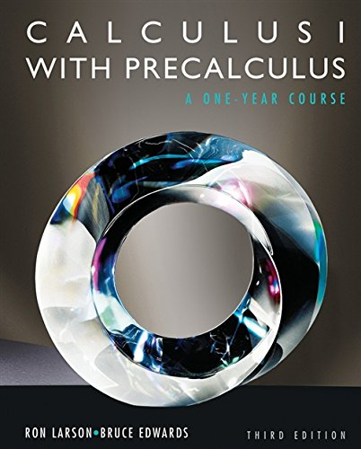 9780840069122: Student Solutions Manual for Larson/Hostetler/Edwards Calculus I with Precalculus, 3rd
