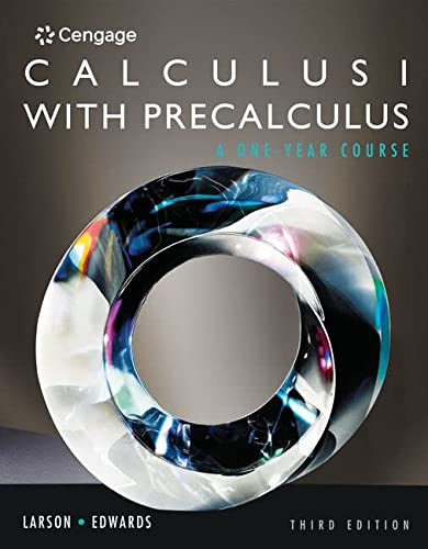 9780840069122: Student Solutions Manual for Larson/Hostetler/Edwards' Calculus I with Precalculus, 3rd