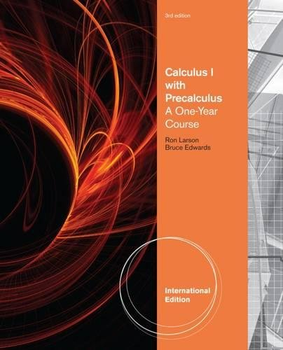9780840069207: Calculus I with Precalculus: A One-Year Course (International Edition)