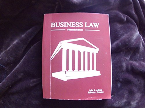 9780840089274: Business Law