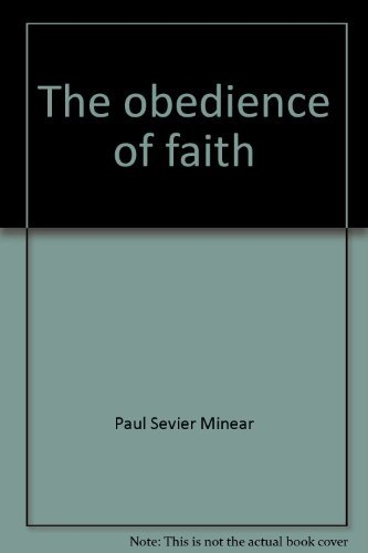 9780840130693: The obedience of faith;: The purposes of Paul in the Epistle to the Romans (Studies in biblical theology)