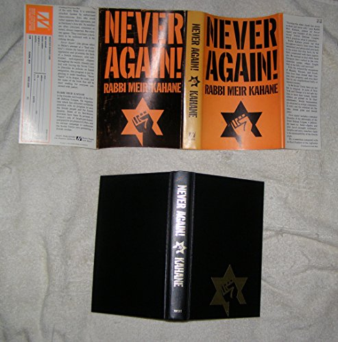 Never again! A Program for Survival: Meir Kahane