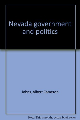 9780840305244: Nevada government and politics