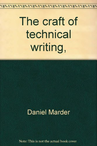 9780840314819: The craft of technical writing,: For all professional people