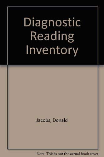 9780840319999: Diagnostic Reading Inventory