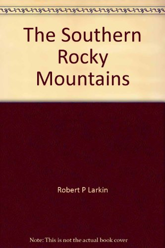 9780840322074: The Southern Rocky Mountains: Field guide (K/H geology field guide series ; 5)
