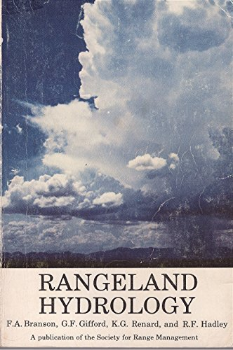 Rangeland hydrology (Range science series): Branson; Reid, Elbert