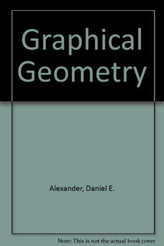 9780840329769: Graphical Geometry