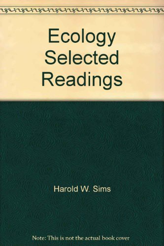 9780840330406: Ecology Selected Readings