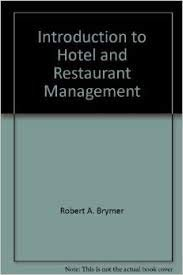 9780840332837: Introduction to Hotel and Restaurant Management