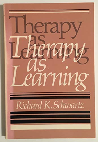 9780840335951: Therapy as learning