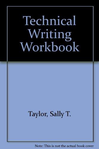9780840336804: Technical Writing Workbook